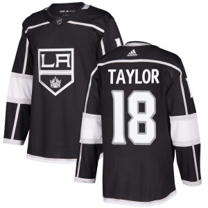 Dave Taylor Los Angeles Kings Men's Adidas Authentic Black Jersey
