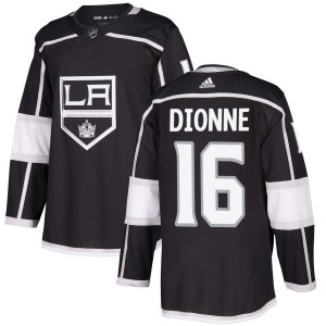 Marcel Dionne Los Angeles Kings Men's Adidas Authentic Black Jersey