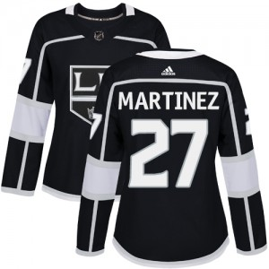 Alec Martinez Los Angeles Kings Women's Adidas Authentic Black Home Jersey