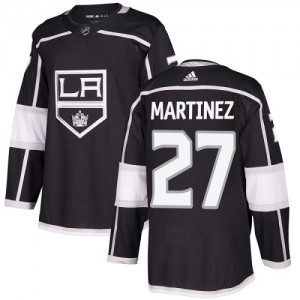 Alec Martinez Los Angeles Kings Youth Adidas Authentic Black Home Jersey