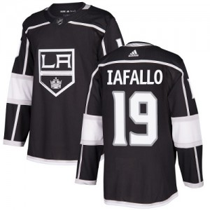 Alex Iafallo Los Angeles Kings Youth Adidas Authentic Black Home Jersey