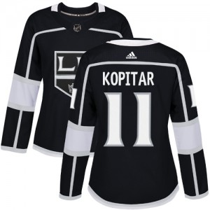 Anze Kopitar Los Angeles Kings Women's Adidas Authentic Black Home Jersey