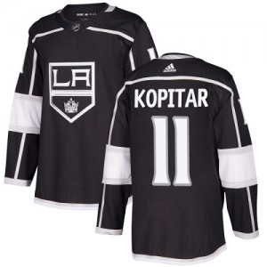 Anze Kopitar Los Angeles Kings Youth Adidas Authentic Black Home Jersey