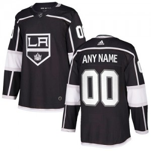 Youth Adidas Los Angeles Kings Customized Authentic Black Home Jersey