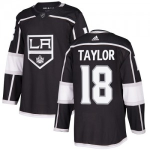Dave Taylor Los Angeles Kings Youth Adidas Authentic Black Home Jersey