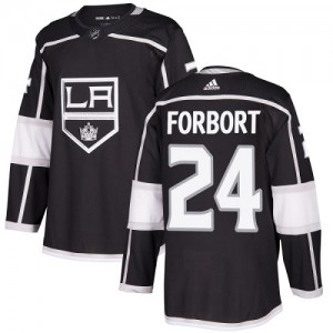 Derek Forbort Los Angeles Kings Youth Adidas Authentic Black Home Jersey