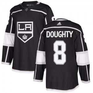Drew Doughty Los Angeles Kings Youth Adidas Authentic Black Home Jersey