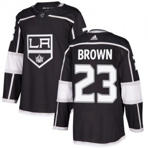 Dustin Brown Los Angeles Kings Youth Adidas Authentic Black Home Jersey