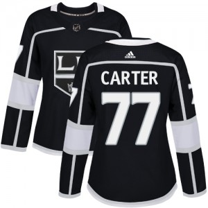 Jeff Carter Los Angeles Kings Women's Adidas Authentic Black Home Jersey