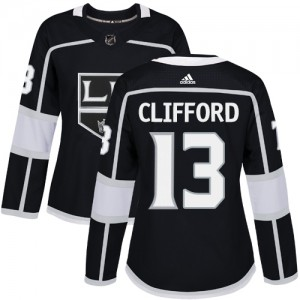 Kyle Clifford Los Angeles Kings Women's Adidas Authentic Black Home Jersey