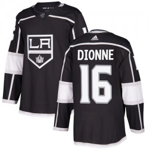 Marcel Dionne Los Angeles Kings Youth Adidas Authentic Black Home Jersey