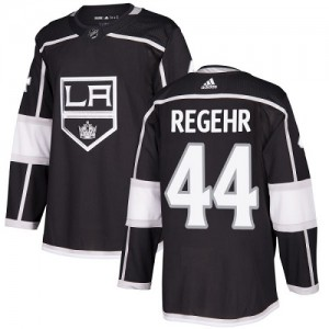 Robyn Regehr Los Angeles Kings Youth Adidas Authentic Black Home Jersey
