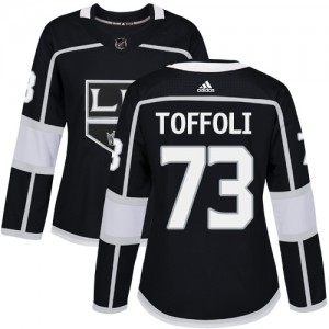 Tyler Toffoli Los Angeles Kings Women's Adidas Authentic Black Home Jersey