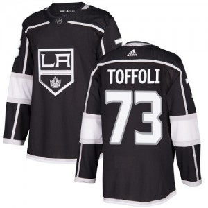 Tyler Toffoli Los Angeles Kings Youth Adidas Authentic Black Home Jersey