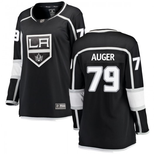 Justin Auger Los Angeles Kings Women's Fanatics Branded Black Breakaway Home Jersey