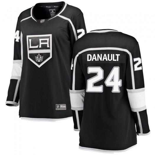 Phillip Danault Los Angeles Kings Women's Fanatics Branded Black Breakaway Home Jersey