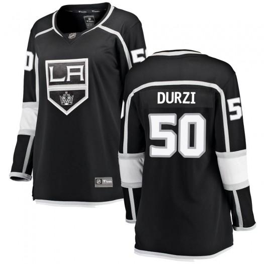 Sean Durzi Los Angeles Kings Women's Fanatics Branded Black Breakaway Home Jersey