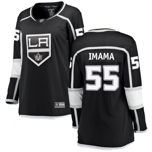 Boko Imama Los Angeles Kings Women's Fanatics Branded Black Breakaway Home Jersey