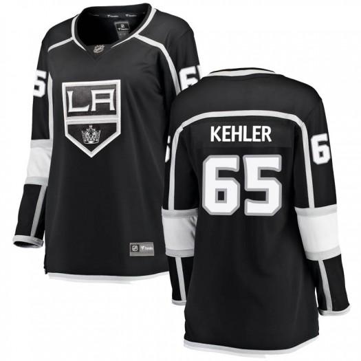 Cole Kehler Los Angeles Kings Women's Fanatics Branded Black Breakaway Home Jersey