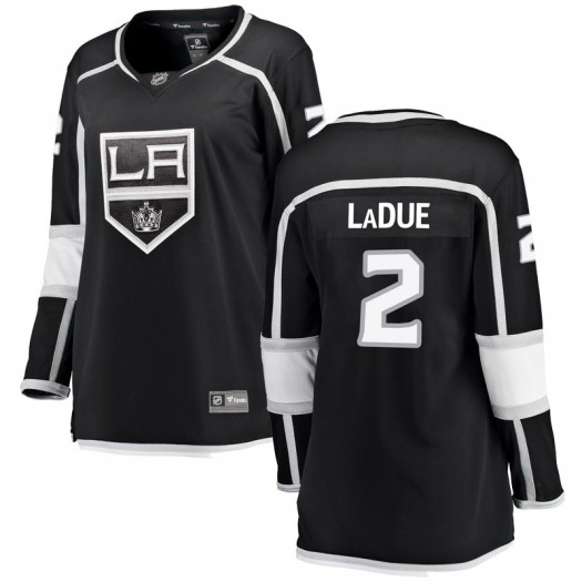 Paul LaDue Los Angeles Kings Women's Fanatics Branded Black Breakaway Home Jersey