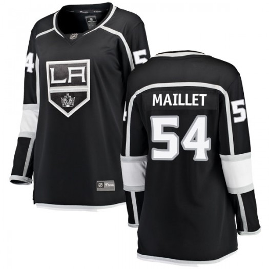 Philippe Maillet Los Angeles Kings Women's Fanatics Branded Black Breakaway Home Jersey