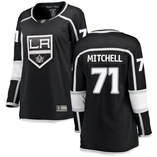Torrey Mitchell Los Angeles Kings Women's Fanatics Branded Black Breakaway Home Jersey