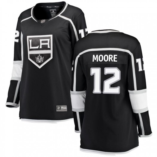 Trevor Moore Los Angeles Kings Women's Fanatics Branded Black Breakaway Home Jersey