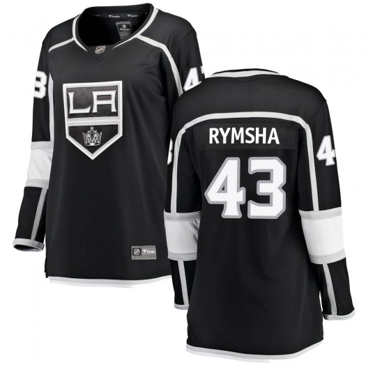 Drake Rymsha Los Angeles Kings Women's Fanatics Branded Black Breakaway Home Jersey
