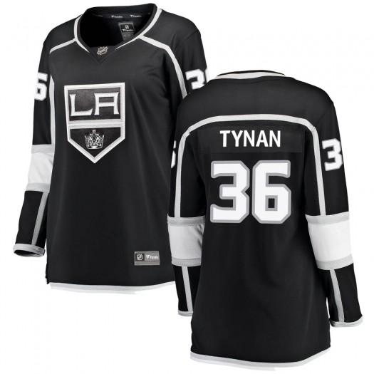 T.J. Tynan Los Angeles Kings Women's Fanatics Branded Black Breakaway Home Jersey