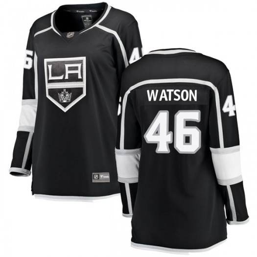 Spencer Watson Los Angeles Kings Women's Fanatics Branded Black Breakaway Home Jersey