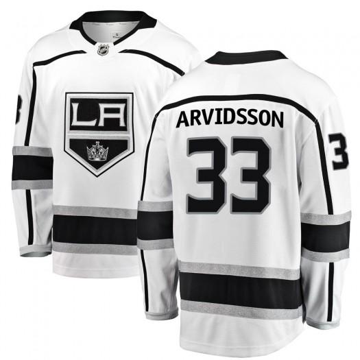 Viktor Arvidsson Los Angeles Kings Men's Fanatics Branded White Breakaway Away Jersey