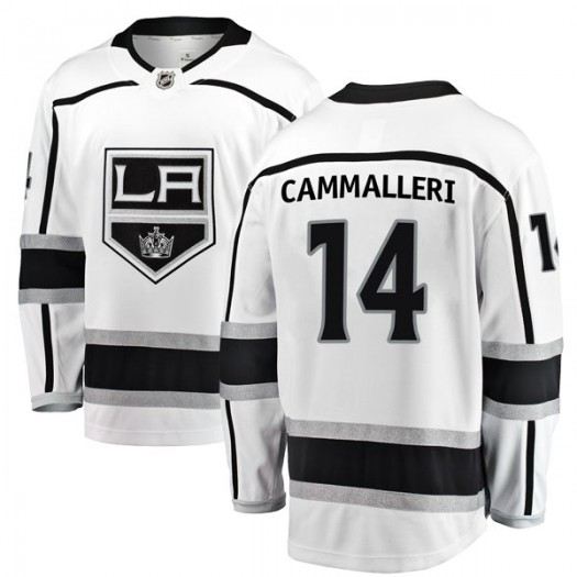 Mike Cammalleri Los Angeles Kings Men's Fanatics Branded White Breakaway Away Jersey