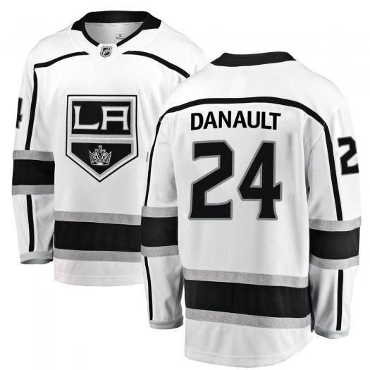 Phillip Danault Los Angeles Kings Men's Fanatics Branded White Breakaway Away Jersey