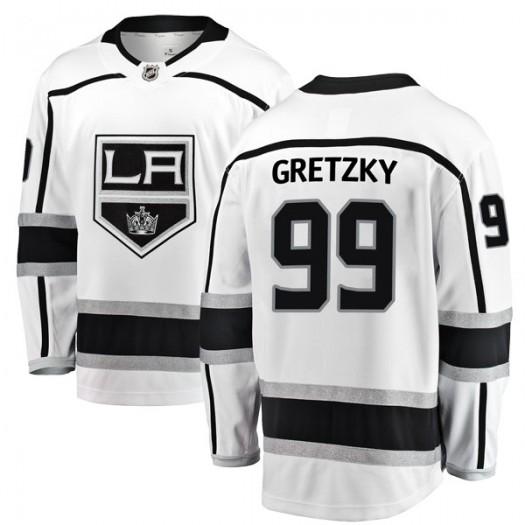 Wayne Gretzky Los Angeles Kings Men's Fanatics Branded White Breakaway Away Jersey