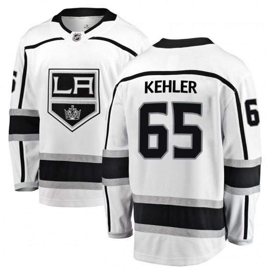 Cole Kehler Los Angeles Kings Men's Fanatics Branded White Breakaway Away Jersey