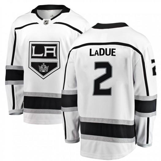 Paul LaDue Los Angeles Kings Men's Fanatics Branded White Breakaway Away Jersey
