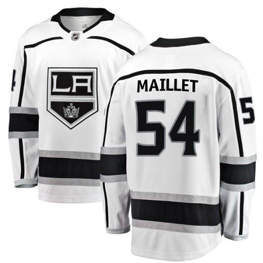 Philippe Maillet Los Angeles Kings Men's Fanatics Branded White Breakaway Away Jersey