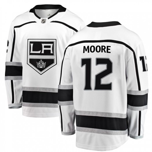 Trevor Moore Los Angeles Kings Men's Fanatics Branded White Breakaway Away Jersey