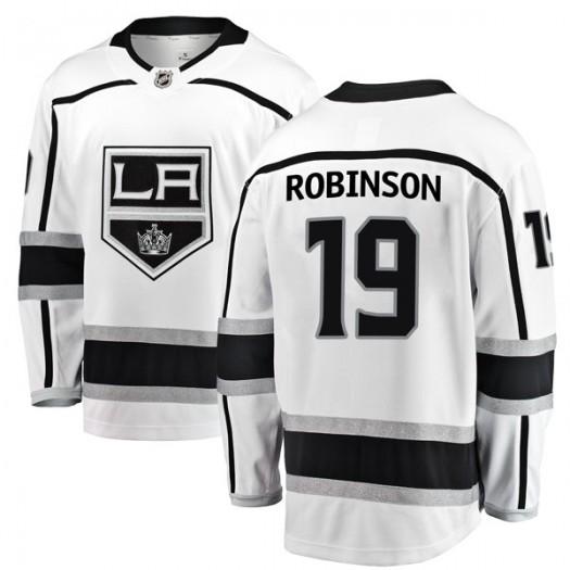 Larry Robinson Los Angeles Kings Men's Fanatics Branded White Breakaway Away Jersey