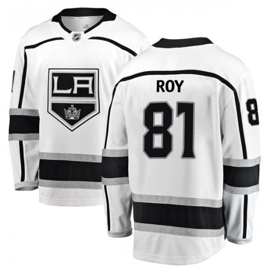 Matt Roy Los Angeles Kings Men's Fanatics Branded White Breakaway Away Jersey