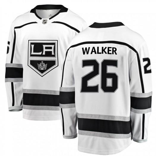 Sean Walker Los Angeles Kings Men's Fanatics Branded White Breakaway Away Jersey
