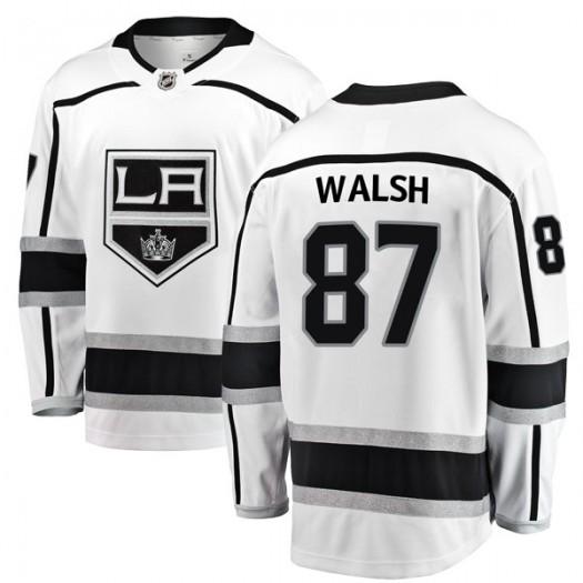 Shane Walsh Los Angeles Kings Men's Fanatics Branded White Breakaway Away Jersey