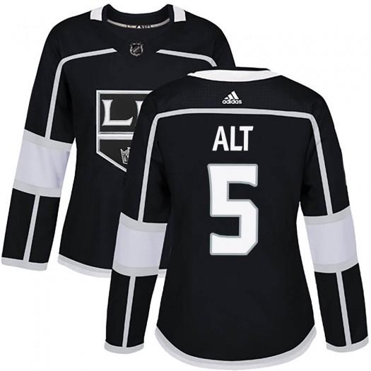 Mark Alt Los Angeles Kings Women's Adidas Authentic Black Home Jersey