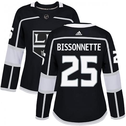 Paul Bissonnette Los Angeles Kings Women's Adidas Authentic Black Home Jersey