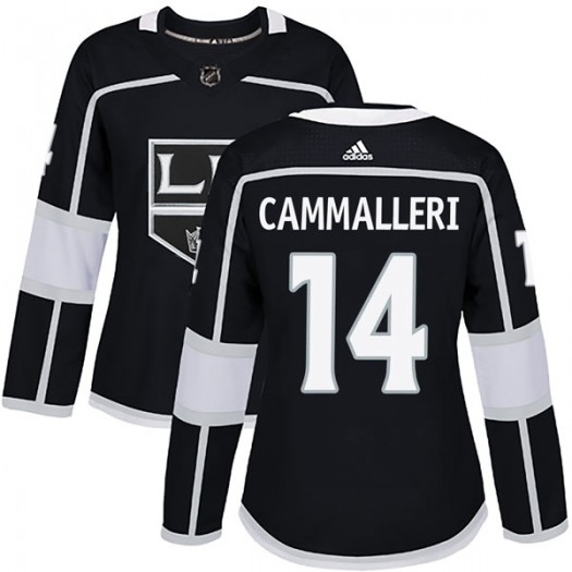 Mike Cammalleri Los Angeles Kings Women's Adidas Authentic Black Home Jersey