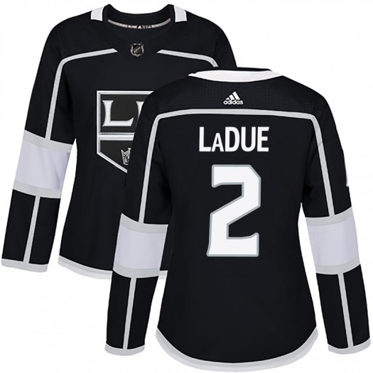 Paul LaDue Los Angeles Kings Women's Adidas Authentic Black Home Jersey