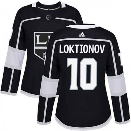 Andrei Loktionov Los Angeles Kings Women's Adidas Authentic Black Home Jersey