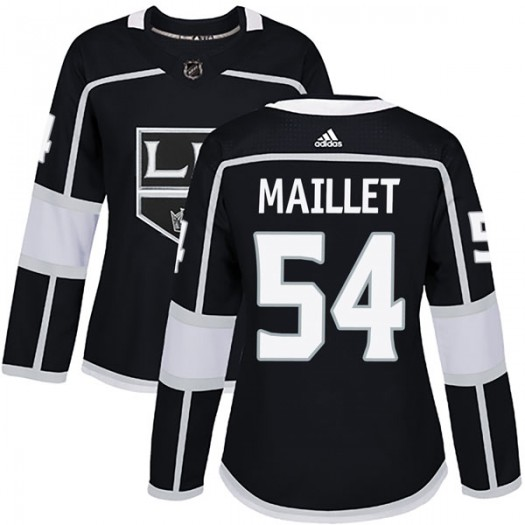 Philippe Maillet Los Angeles Kings Women's Adidas Authentic Black Home Jersey
