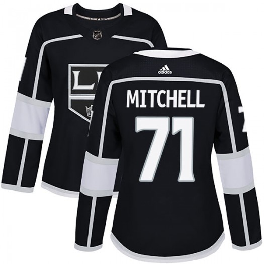 Torrey Mitchell Los Angeles Kings Women's Adidas Authentic Black Home Jersey