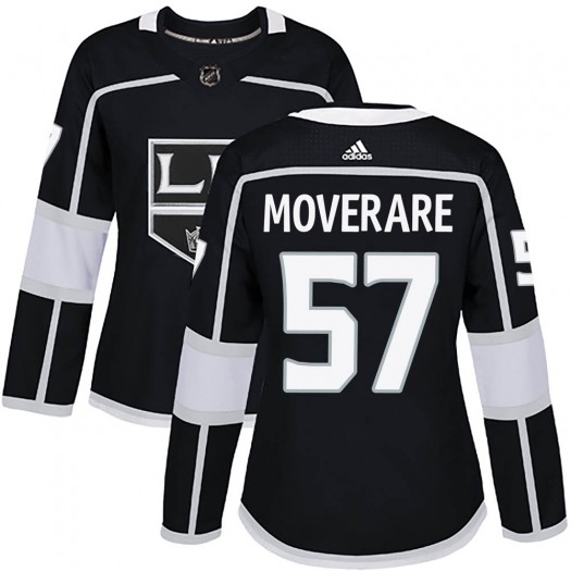 Jacob Moverare Los Angeles Kings Women's Adidas Authentic Black Home Jersey